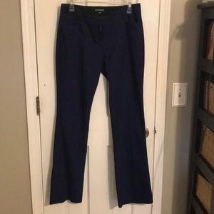 Navy blue Express work pants size 8